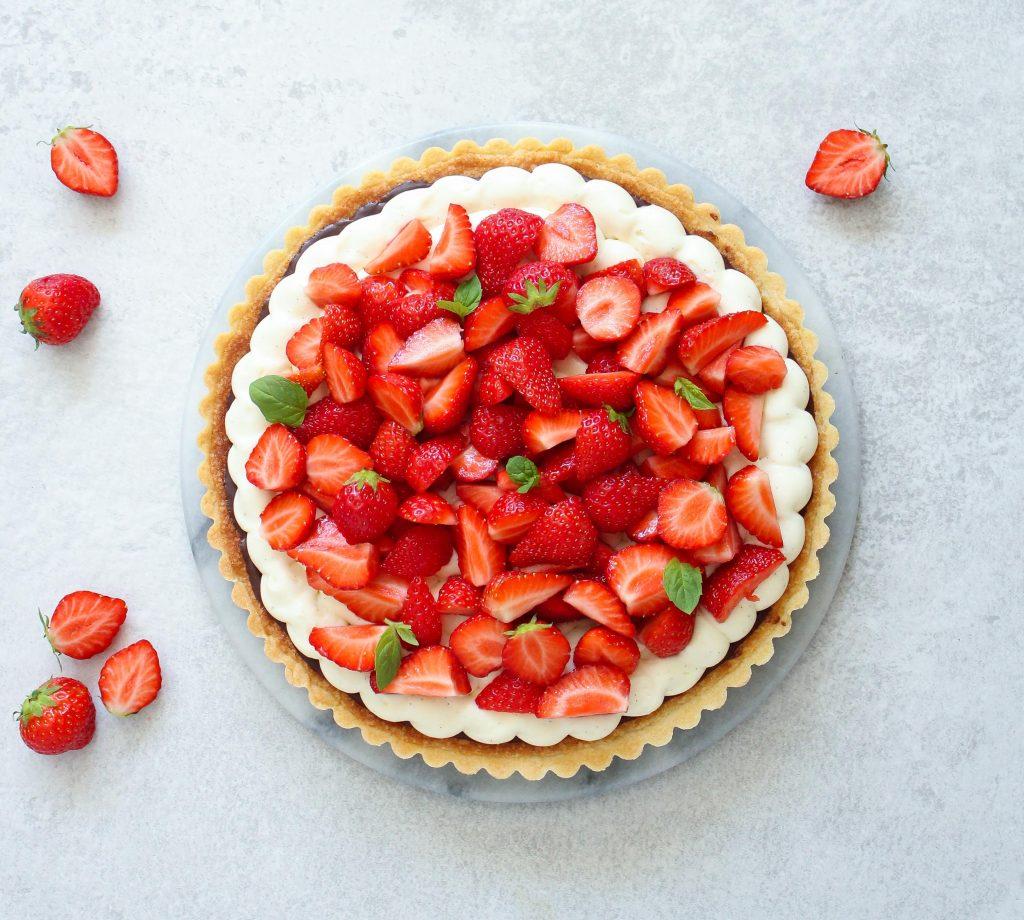 Alletiders Kogebog Jordbærtærte jordbærtærte